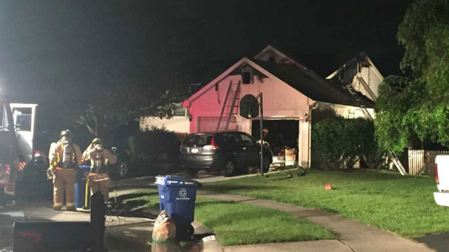 Two people escape Galloway house fire, six cats still missing