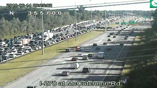 Sheriff's office identifies motorcyclist killed in crash along I-270