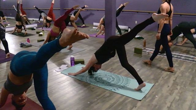 Friday Freebies: Celebrate National Yoga Month with free yoga classes all month long