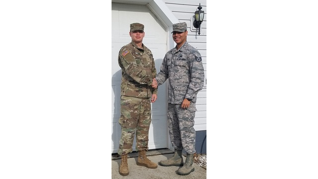 LEFT- John Levier Jr, Groveport, Army 3 years RIGHT -Kelvin Cyrus SLASH Levier, Groveport, Air Force 8 years_1530476770262.jpg.jpg