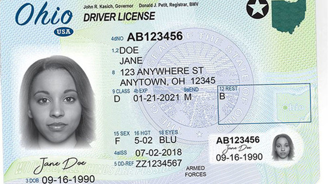 Ohio BMV offering online driver license renewal for military members
