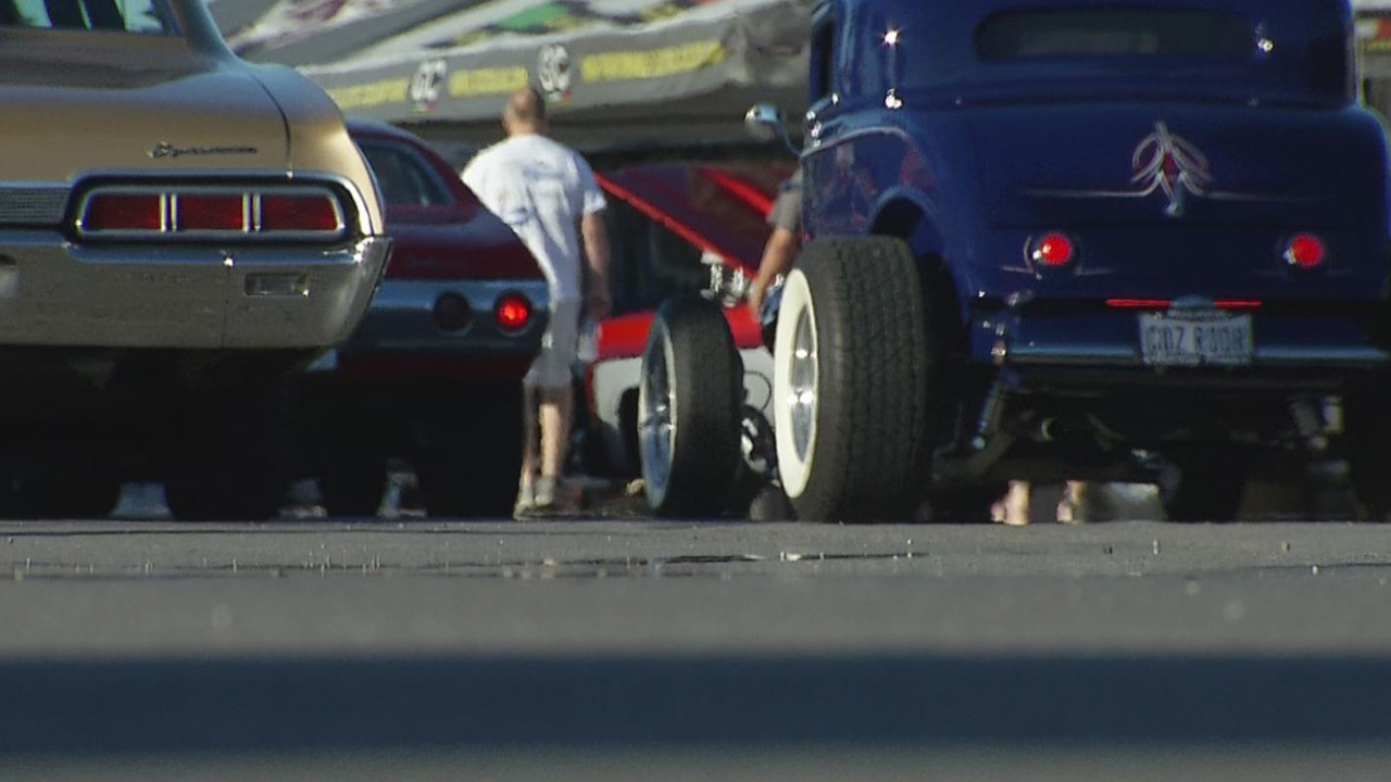 Thousands of muscle cars, old classics on display at Goodguys car show