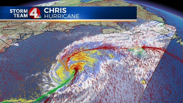 Hurricane Chris could threaten Iceland this weekend