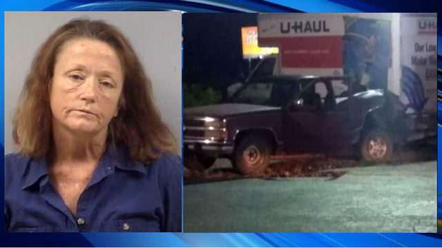 Woman drove truck with puppy tied to it until it died, police say