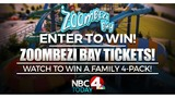 Enter to win a family 4 pack of tickets to Zoombezi Bay