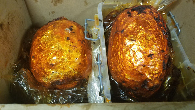 CBP: Woman smuggles heroin into US in packages that looked like cooked chickens