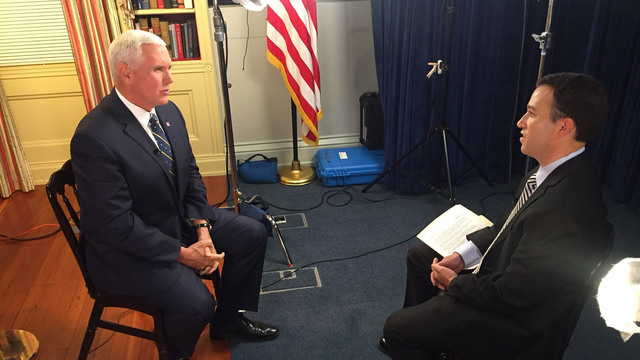 WATCH: Vice Pres. Pence talks trade, foreign policy, and immigration