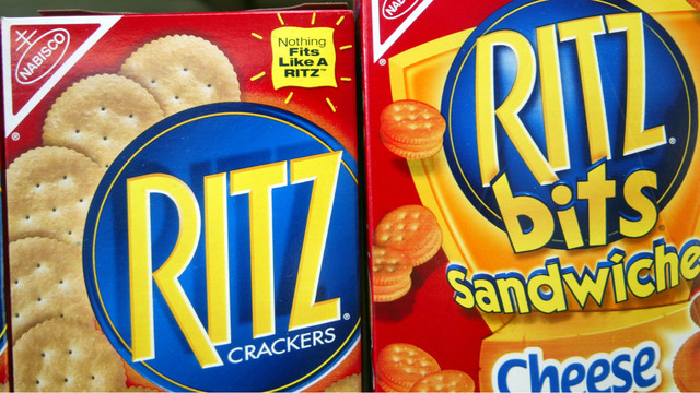 Select Ritz cracker products recalled over salmonella fears