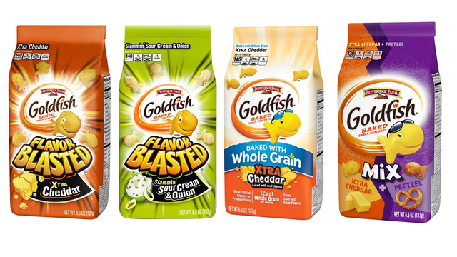 Goldfish crackers recalled due to possible salmonella contamination