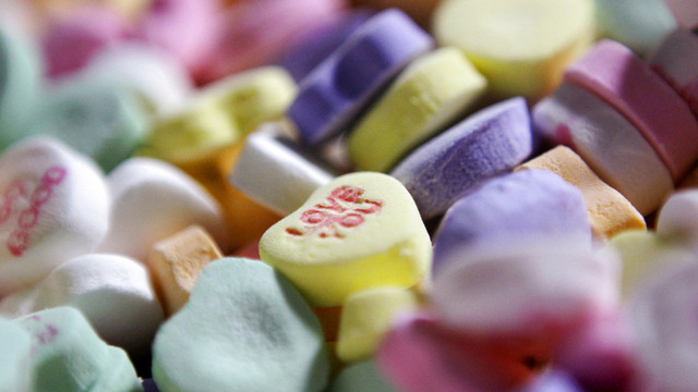 Miss You: Candy hearts company plant abruptly closes