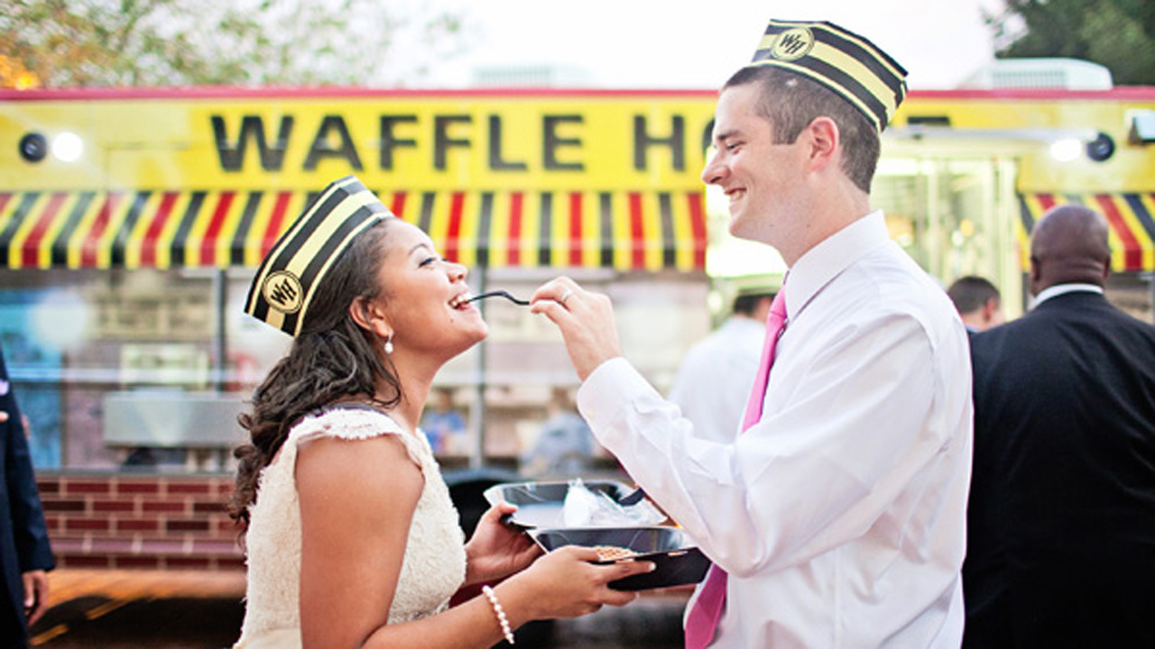 Cater Your Wedding Or Birthday Party With Waffle Houses New Food Truck