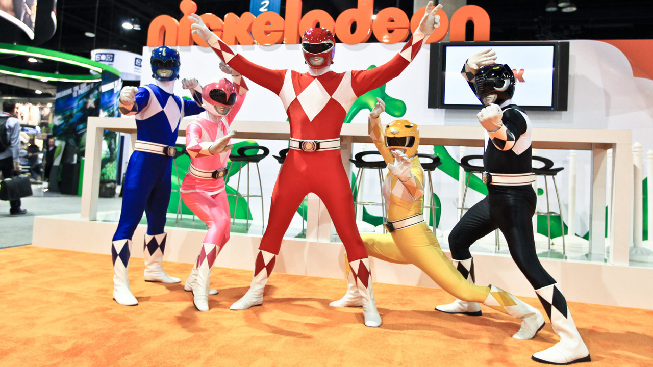 original mighty morphin power rangers debuted 25 years ago today