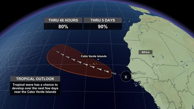 Potential Tropical Cyclone Six might become Florence before the ...