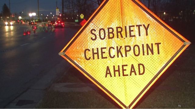 DUI Checkpoint scheduled Friday night on Refugee Road