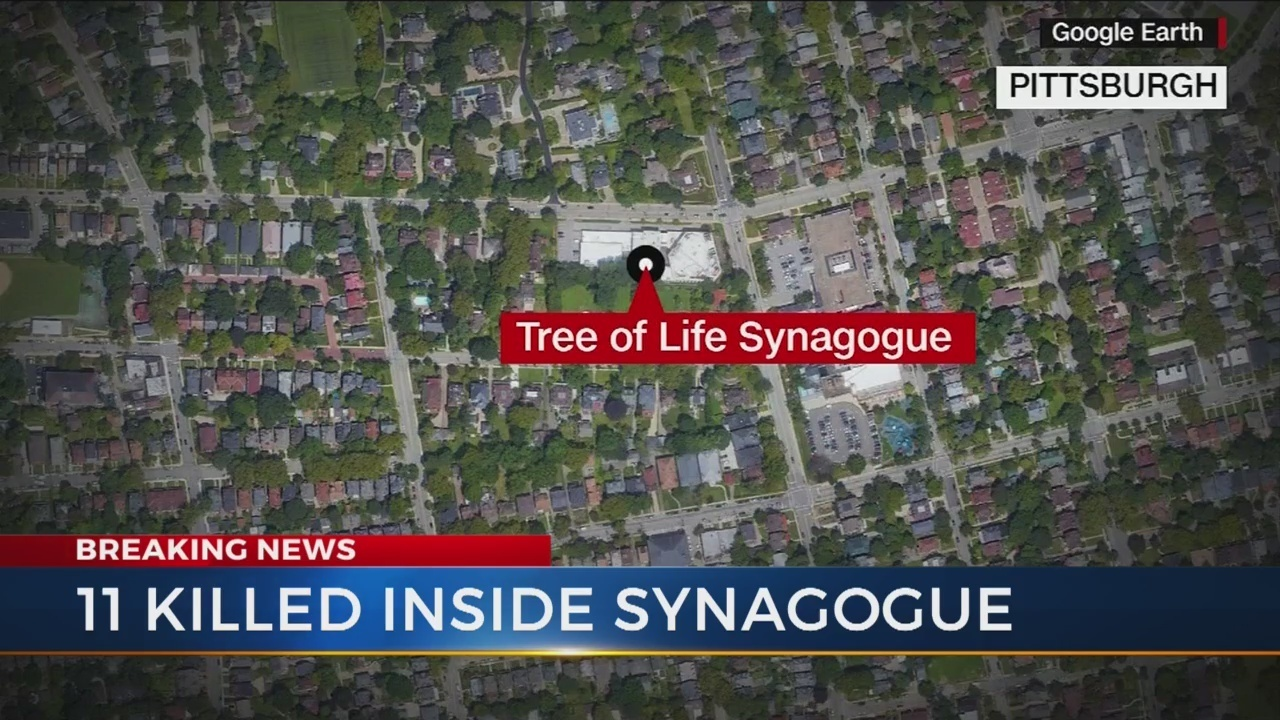 Suspect In Custody In Deadly Pittsburgh Synagogue Attack