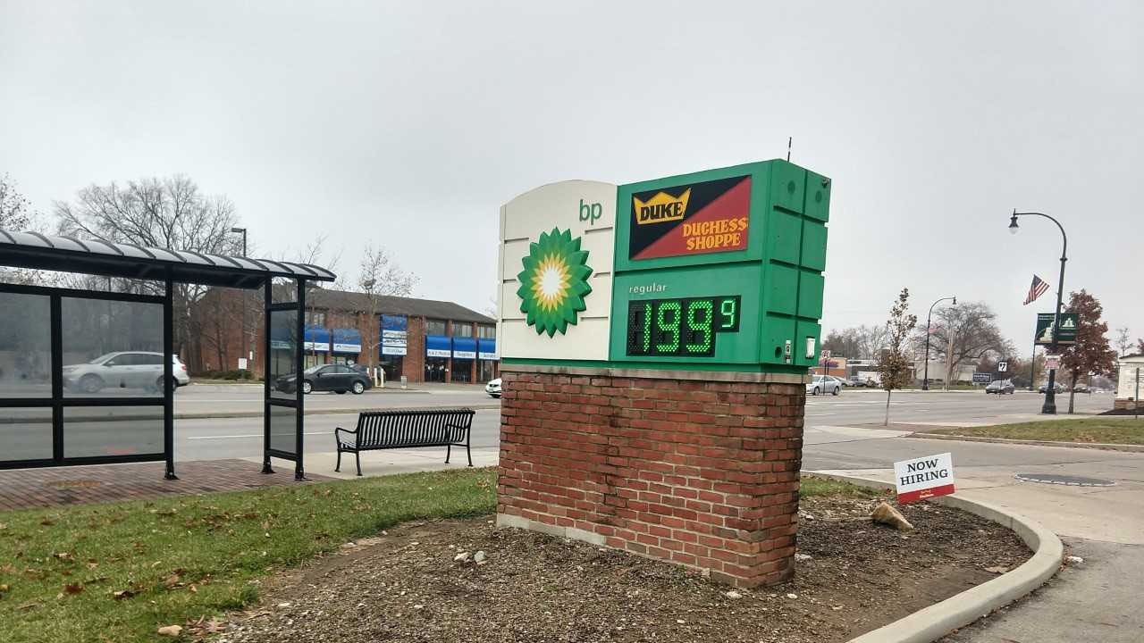 Columbus Gas Prices >> Columbus Gas Prices Drop Below 2 00