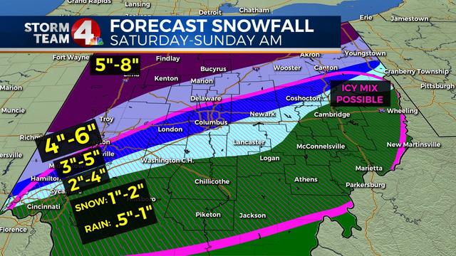 How To Make A Weather Map.Big Weekend Winter Weather Maker Heading Our Way