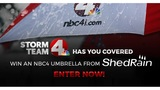 NBC4 Umbrella Giveaway