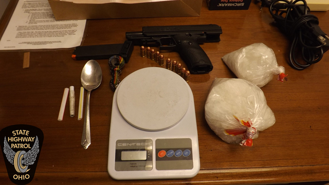 Troopers seize loaded gun, $10k worth of meth during Licking Co. traffic stop