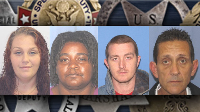 MUGSHOTS: US Marshals announce this week's top-wanted fugitives in central Ohio