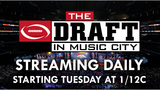 LIVE: The Draft in the Music City previews Thursday's first round