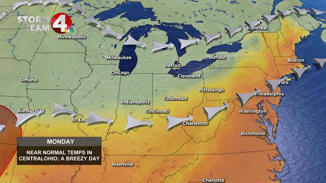 Drying Out, Mild And Breezy